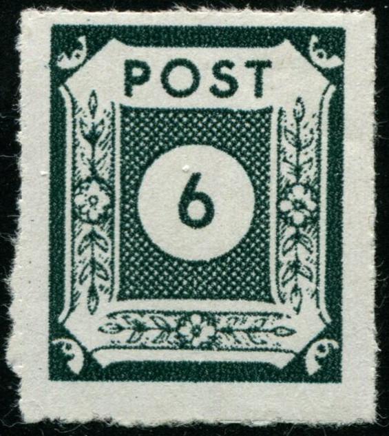 Ost-Sachsen MiNr 43 B I 43_b_i10