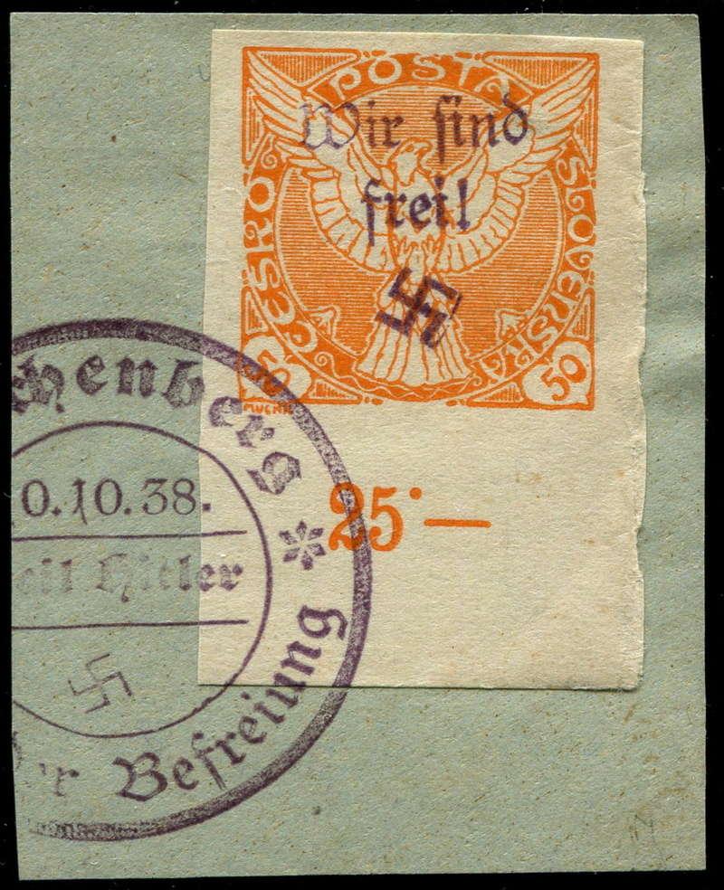 sudetenland - Sudetenland - Ausgabe für Reichenberg 50_bri10