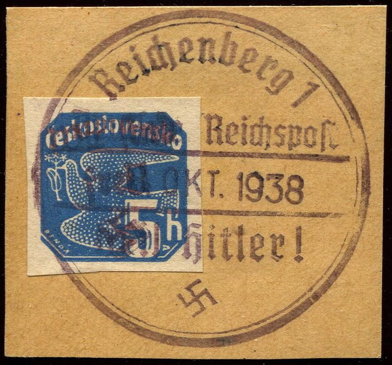 sudetenland - Sudetenland - Ausgabe für Reichenberg 56_bri10
