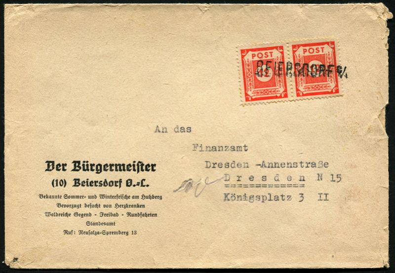 Ostsachsen (OPD Dresden) -Sowjetische Besatzungszone- - Seite 15 Beleg_15