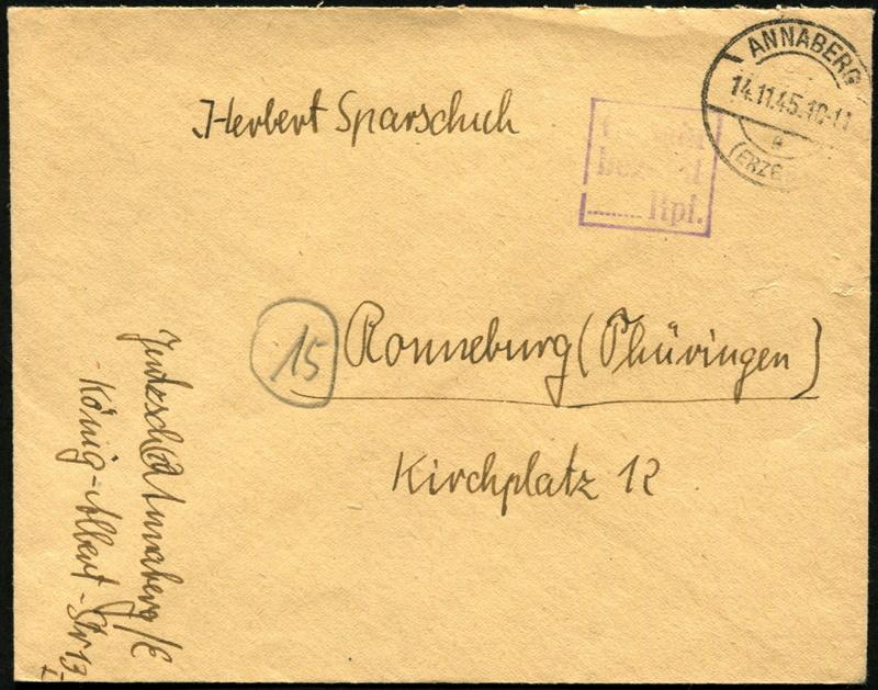 Ostsachsen (OPD Dresden) -Sowjetische Besatzungszone- - Seite 14 Gebyhr14