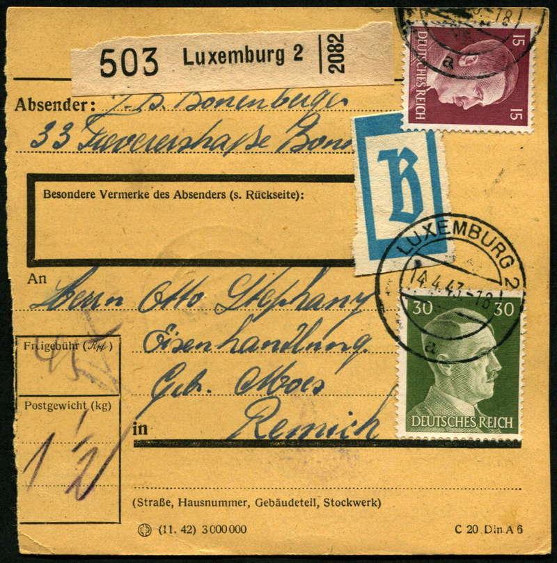 litauen - Deutsche Besetzungsausgaben im II. Weltkrieg - Seite 8 Paketk10