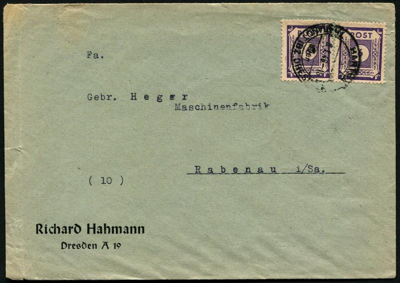 Ostsachsen (OPD Dresden) -Sowjetische Besatzungszone- - Seite 13 Postst13