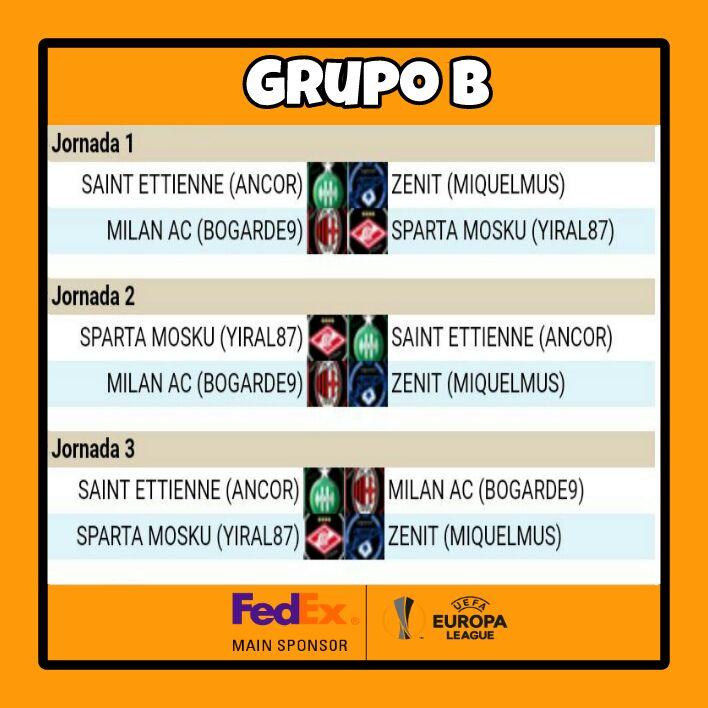 JORNADAS 1, 2 Y 3 GRUPO B B11