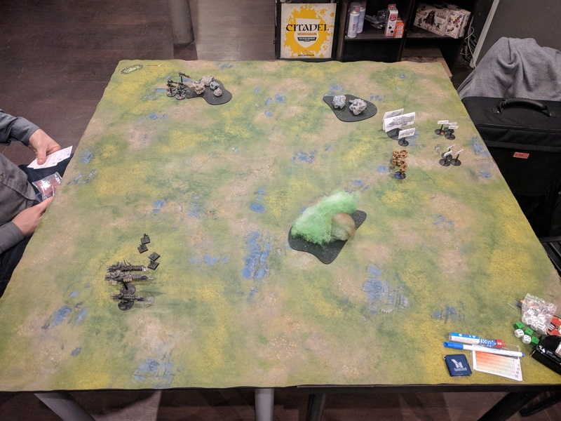[Orks VS Navy - 750pts] On the Rok Again ! T010