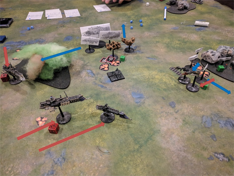 [Orks VS Navy - 750pts] On the Rok Again ! T4_vis10