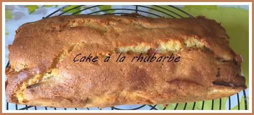 Cake à la rhubarbe Cake_y11