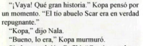 ¿Scar realmente podría ser padre de Nala?  23548210