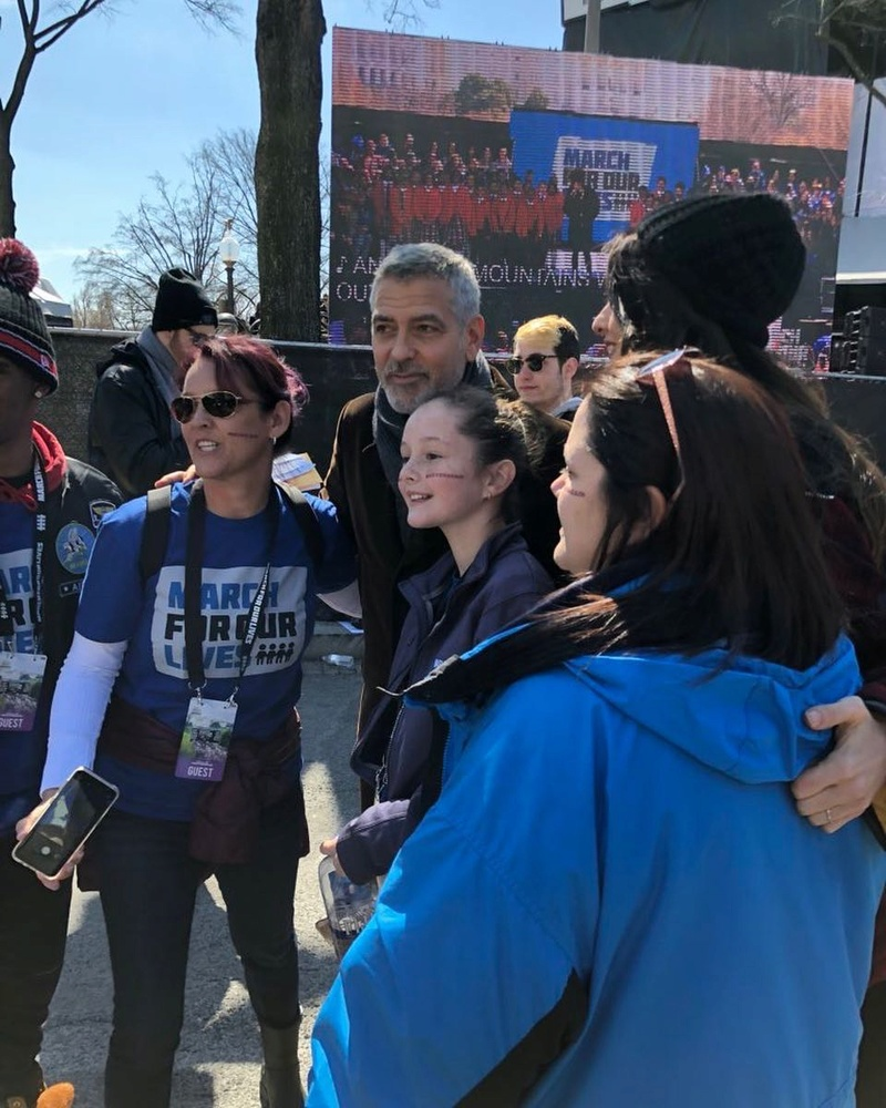 George Clooney: my letter to the Parkland students  29088510