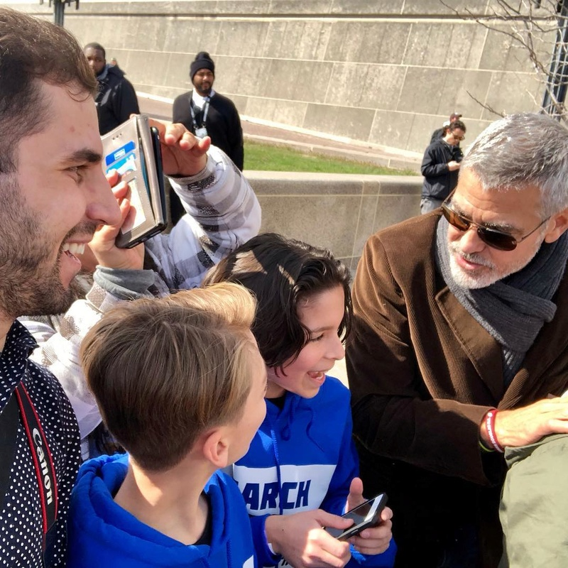 George Clooney: my letter to the Parkland students  29095910