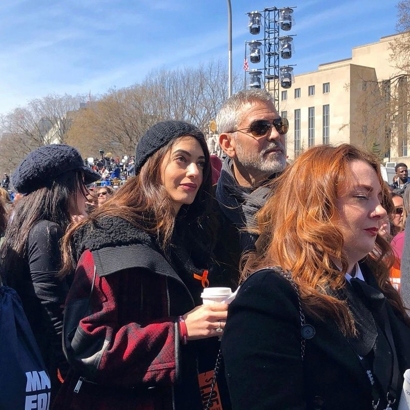 George Clooney: my letter to the Parkland students  29096210