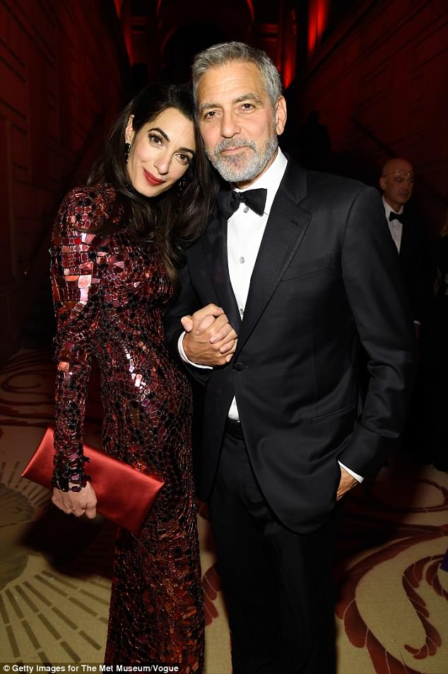 George and Amal Clooney Later at after party after the Met Gala2918 4bf6af10