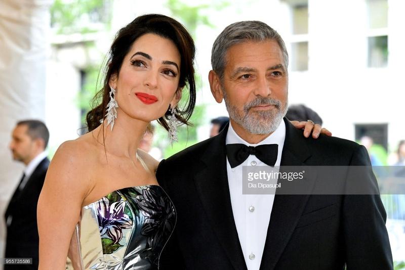 George and Amal at Met Gala - Page 2 95573510
