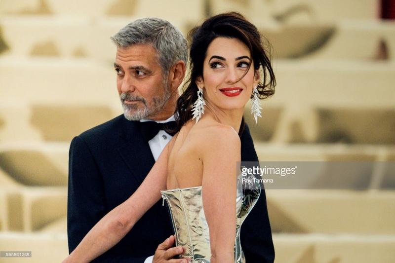 George and Amal at Met Gala - Page 2 95590110