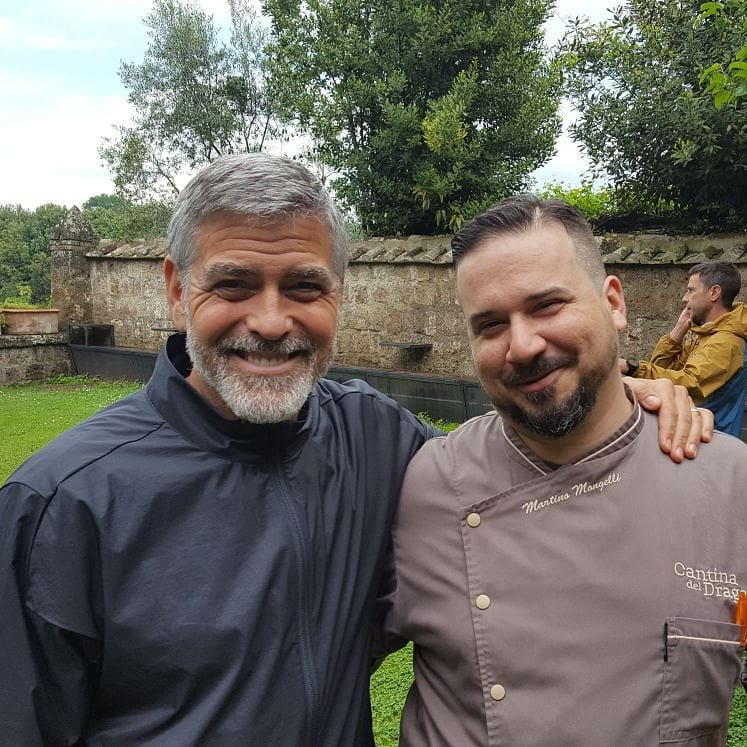 George Clooney back in Viterbo, Italy - 10 May Cantin10