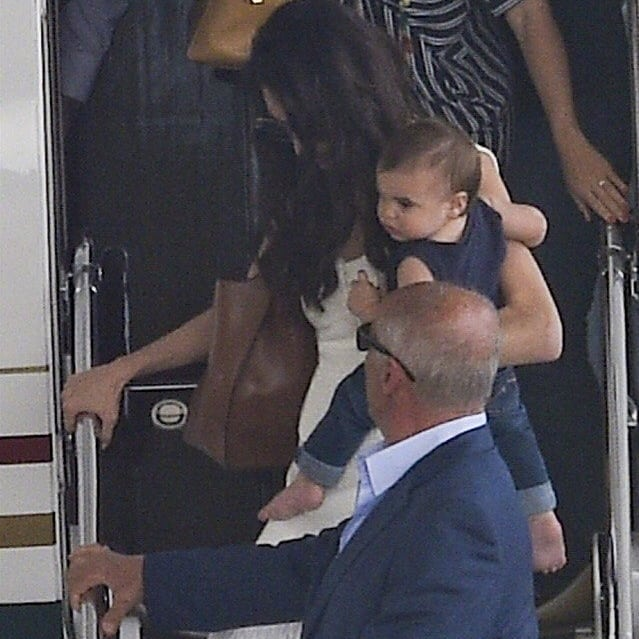 George and Amal arrive in Sardinia  Celebr13