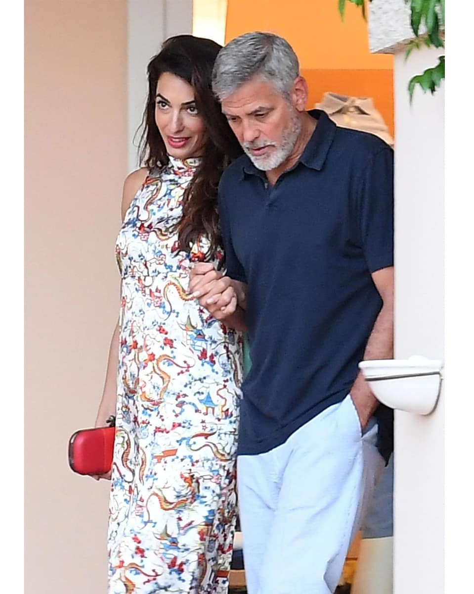 George and Amal out for dinner in Sardinia (2) Mr_mrs12