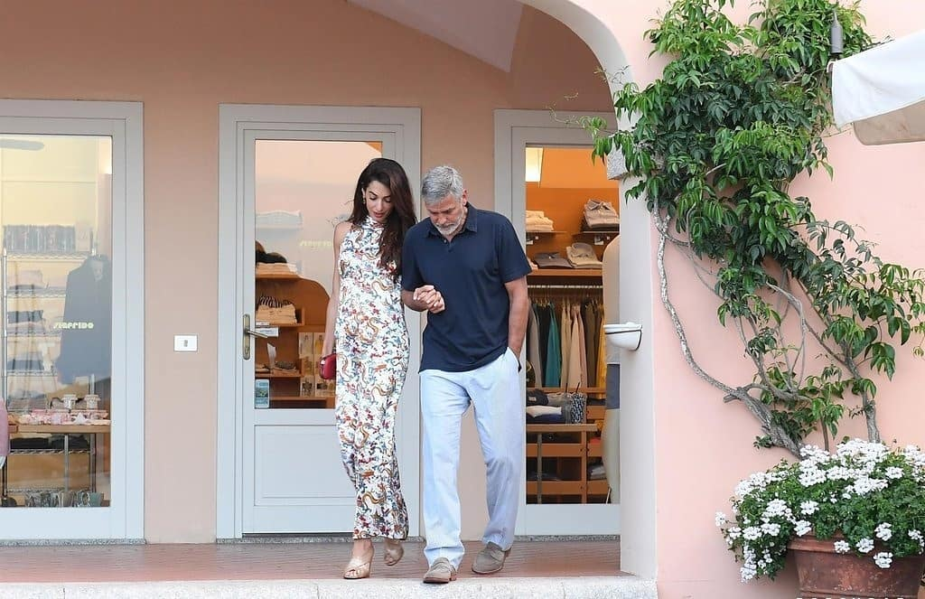 George and Amal out for dinner in Sardinia (2) Mr_mrs15
