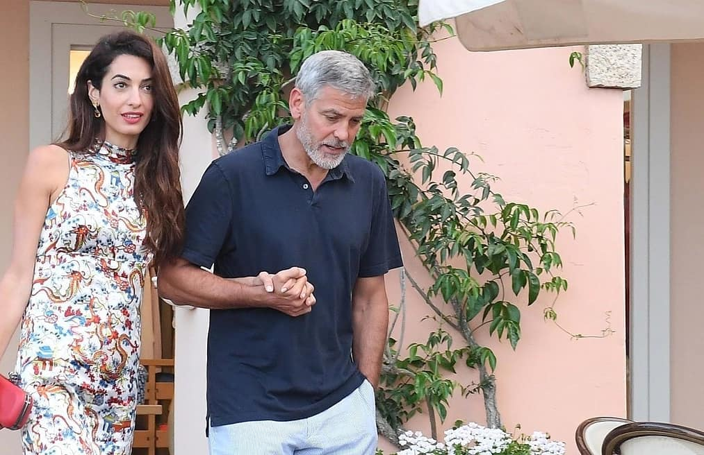 George and Amal out for dinner in Sardinia (2) Mr_mrs18