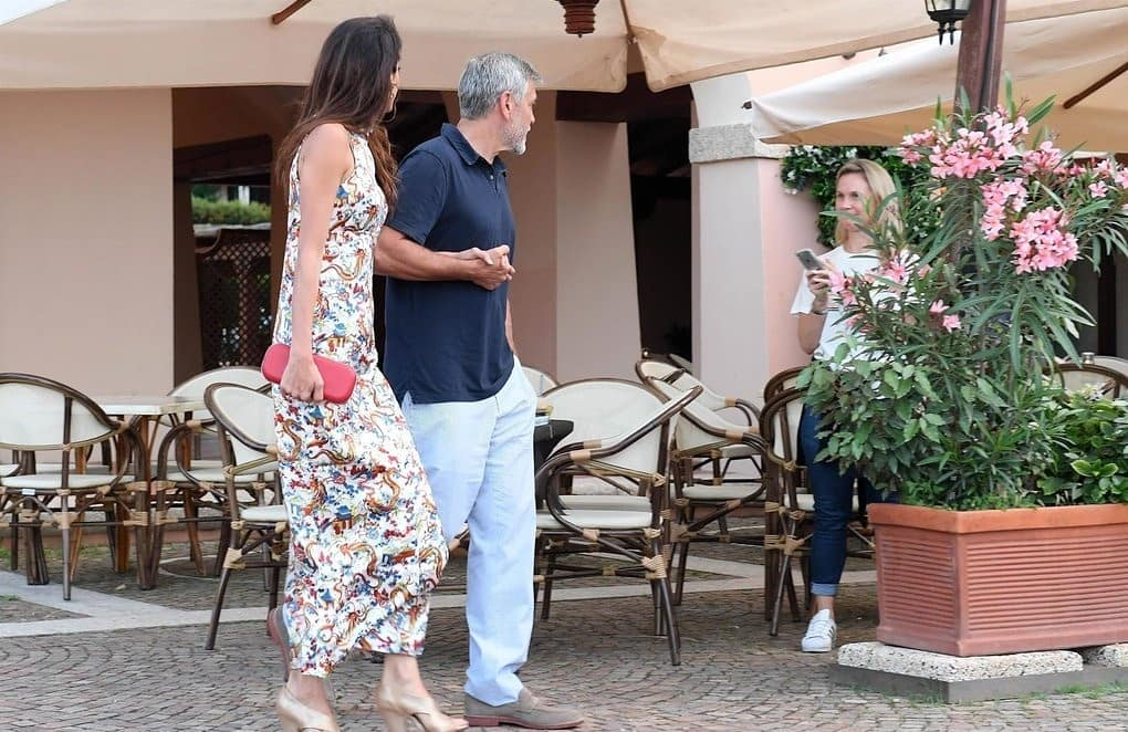 George and Amal out for dinner in Sardinia (2) Mr_mrs20