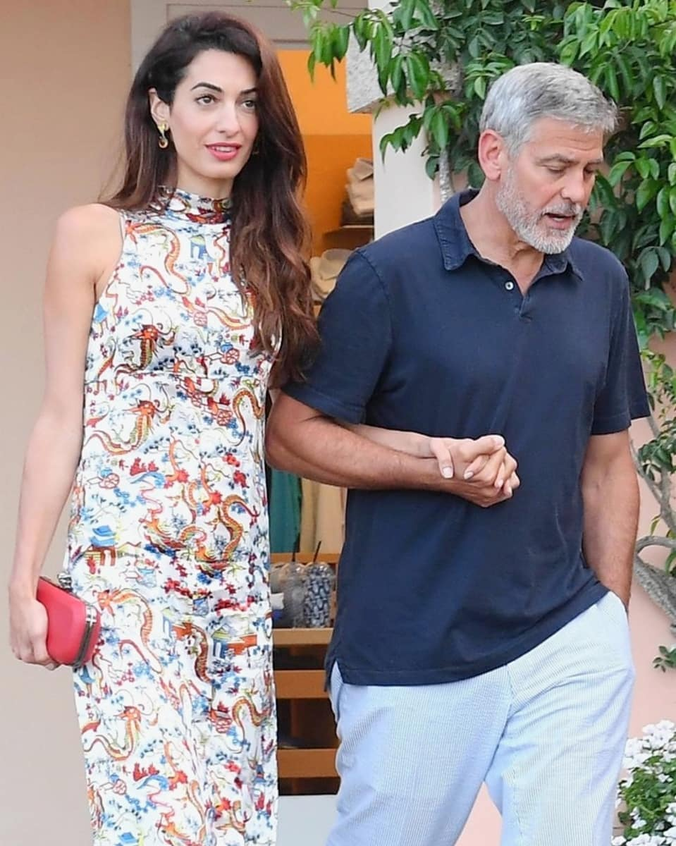 George and Amal out for dinner in Sardinia (2) Mr_mrs22
