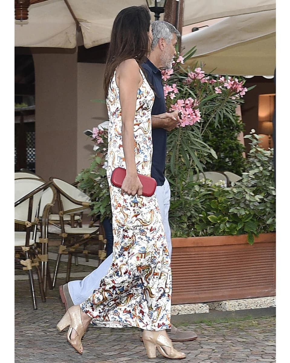 George and Amal out for dinner in Sardinia (2) Mr_mrs29