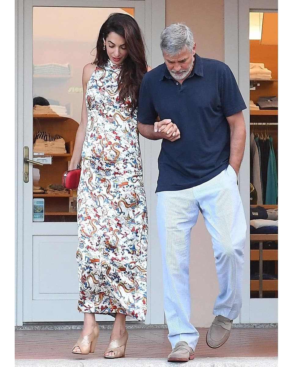 George and Amal out for dinner in Sardinia (2) Mr_mrs30