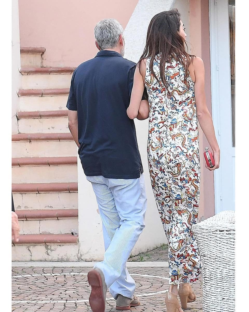 George and Amal out for dinner in Sardinia (2) Mr_mrs32