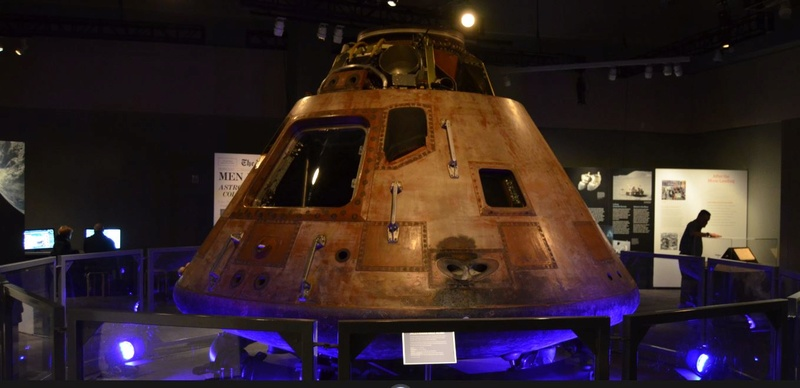 Apollo 11 Command Module at St. Louis Science Center 0_13