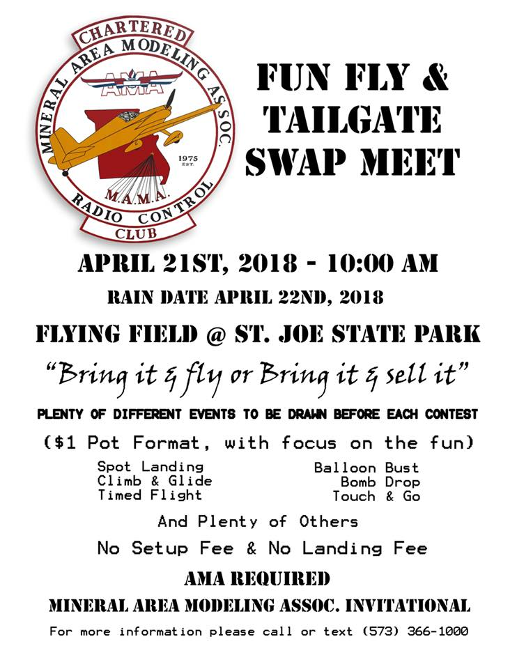 Spring Fun-Fly in Missouri & Columbia, Illinois Swap Meet 1_flye10