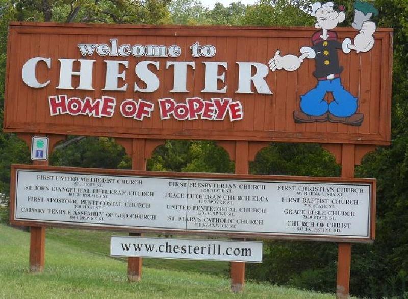 Popeye goes Sky Diving...the Movie Popeye10