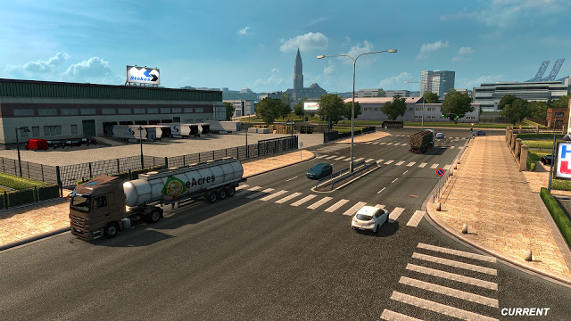 Revisione mappa Germania su Euro Truck Simulator 2 City_b10