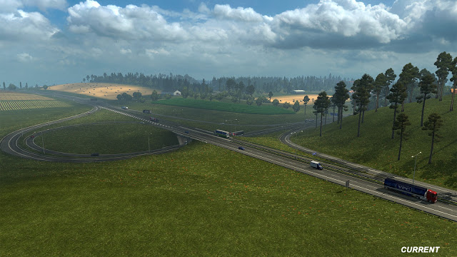 Revisione mappa Germania su Euro Truck Simulator 2 Inters10