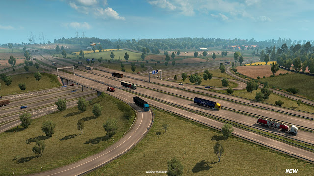 Revisione mappa Germania su Euro Truck Simulator 2 Inters11