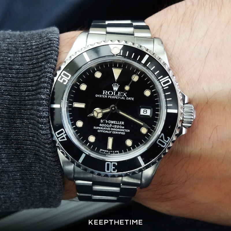 Anyone have or like Rolex? Sea-dw10