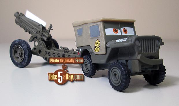 Les blisters de la série Cars 2018 Sarge-10