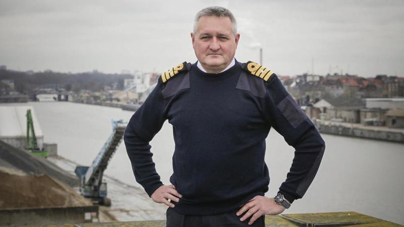 Un nouveau Capitaine à la barre du port de Bruxelles B9714310