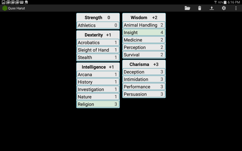 Quxx Harut, Tiefling Warlock of the Celestial, Lvl 3 Screen12