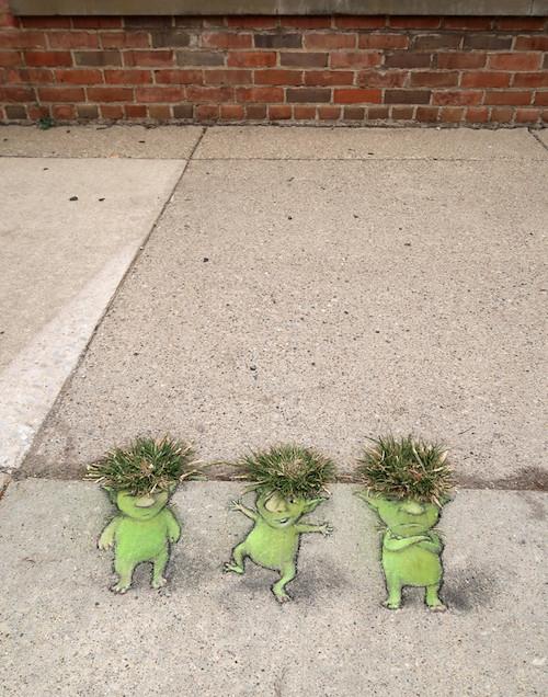 David Zinn - Street Art poétique Crazy-11