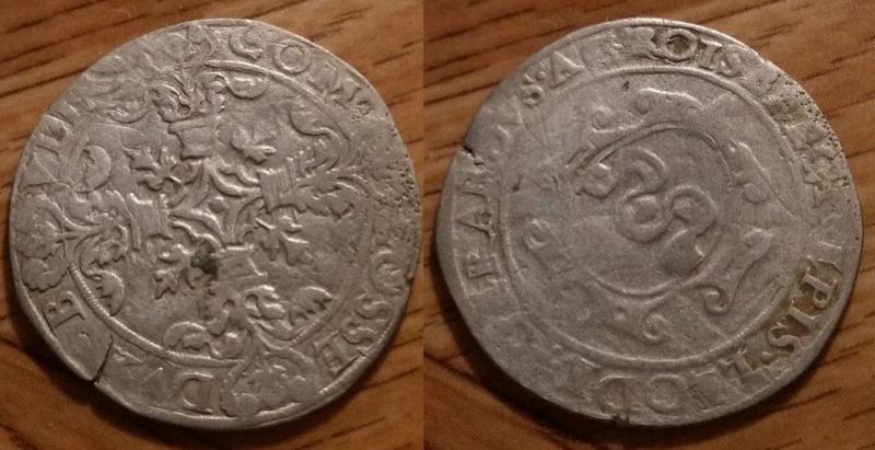 Demi Sprenger de l'Évêché de Liège pour Gérard de Groessbeek (1564 à 1580) ... 1212