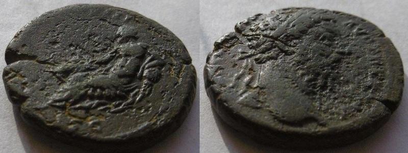 Marc Aurele dupondius revers ? 1213