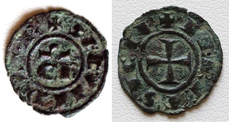 Denier de Conrad II, roi de Sicile ... Ccc10