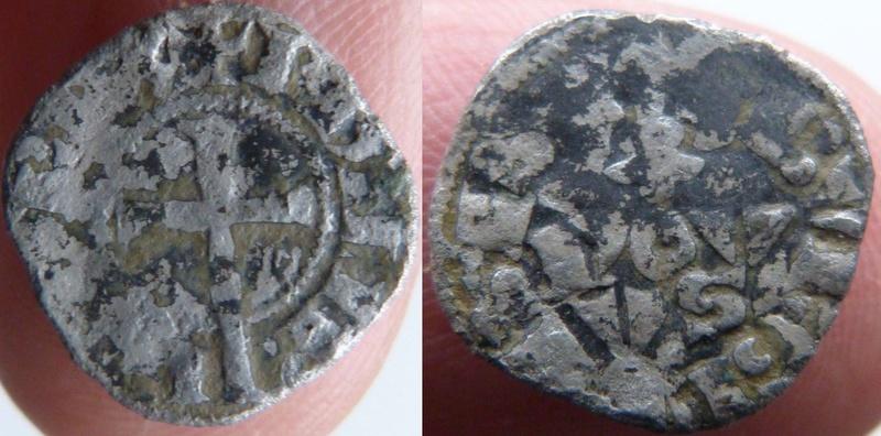 Obole Bourgeoise de Philippe IV ... Croix10