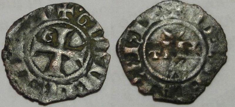 Denier du Comté de la Marche pour Guy Ier de Lusignan (1303-1308) ... Gb11
