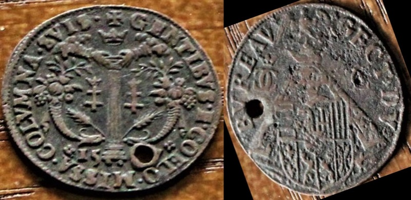 Jeton de compte du Bureau de Charles III, Duché de Lorraine (1545-1608) ... Inonnu10