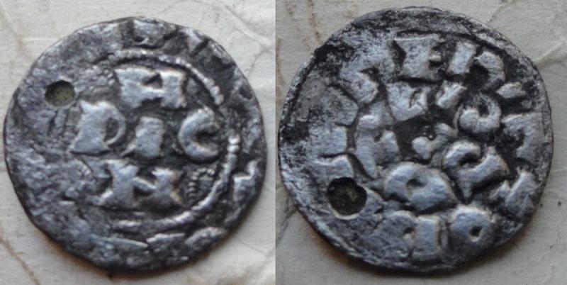 Denier de Pavie pour Enrico II di Franconia ... Nnnnnn10