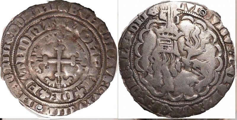 Double Gros de Louis II de Male, comté de Flandres ... Presse14