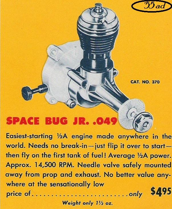 Space Bug Jr. blue tank 1955_t10