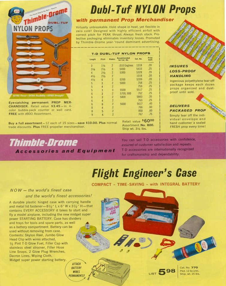 Thimble Drome Props Cox61-10