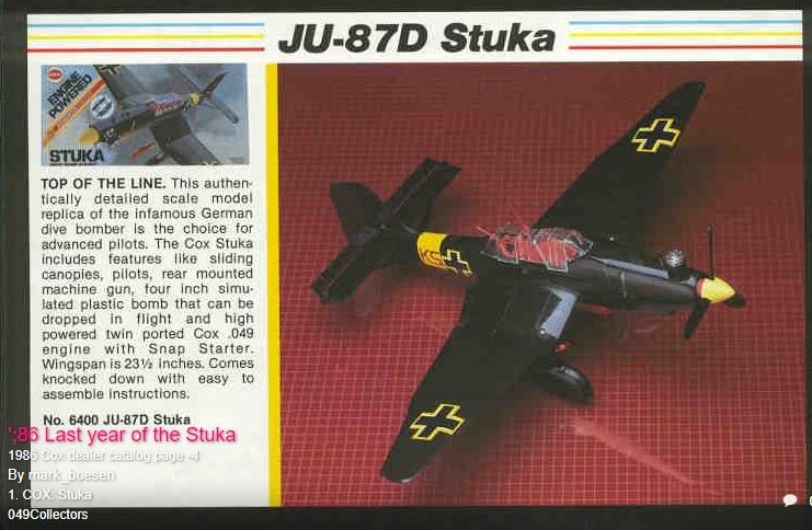 Stuka timeline K7688910